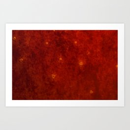 Unknown Surfaces Art Print