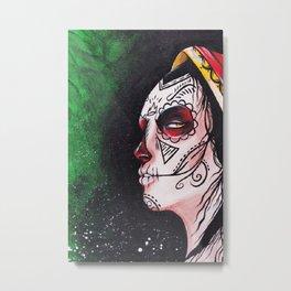 Greenish Love Metal Print