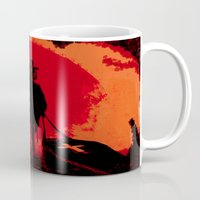 django Mugs featuring Django by IOSQ