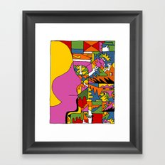 Study no. 8 Framed Art Print