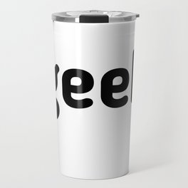 Geek Logo Travel Mug