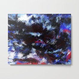 Abstract: Inverted Colors Metal Print