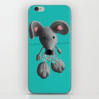 rat iPhone & iPod Skins featuring Rat by Laurel