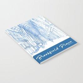 BluePrints | Brookfield Place Glass Arcade - Toronto Notebook