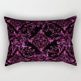 Floral pattern blk 270315 Rectangular Pillow