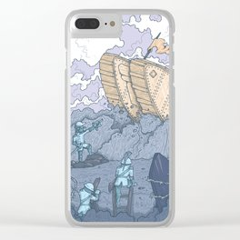 The Trench Blue Clear iPhone Case