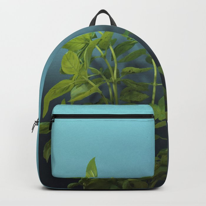 Shy and charming basil Backpack