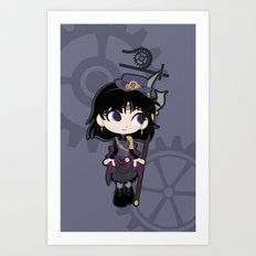 Steampunk Sailor Saturn - Sailor Moon Art Print
