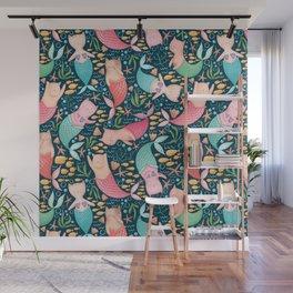 Mercats Galore Pattern Wall Mural