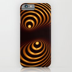 Abstract in copper tones Slim Case iPhone 6s