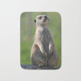 Posing Meerkat Bath Mat