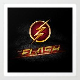 The Flash Inside Art Print