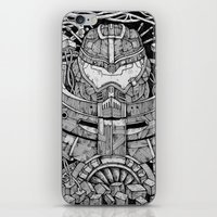 pacific rim iPhone & iPod Skins featuring Pacific Rim by Walid Aziz