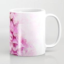 Digitalis Splash Coffee Mug