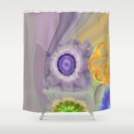 Craterless Incubus Flower  ID:16165-022103-01500 Shower Curtain