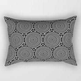 Op Art 8 Rectangular Pillow