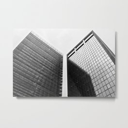 Milan   Office towers in viale Richard Metal Print