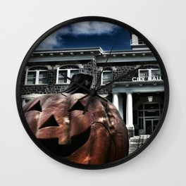 Somebody's Coming... Wall Clock