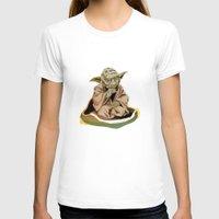 yoda T-shirts featuring Yoda by Rocío Gómez