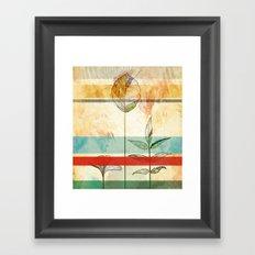 Autumn foliage Framed Art Print