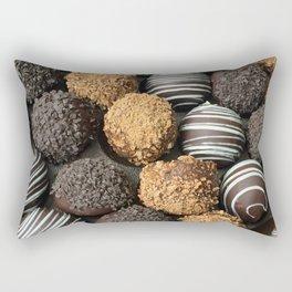 Truffle Chocoholic Fudge Mania Rectangular Pillow
