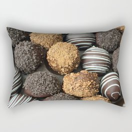 Truffle Chocoholic Fudge Mania Rectangular Pillow