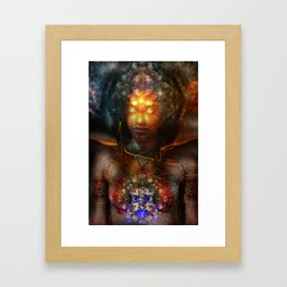 Eyes Of The Beholder Framed Art Print