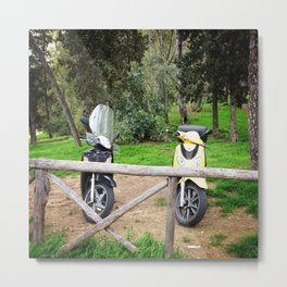 First date at Lo Zodiaco Metal Print