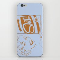 shit iPhone & iPod Skins featuring Shit!  by Plan 9 Design