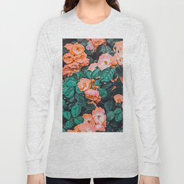 Vintage Blossom || #photography #nature #digitalart Long Sleeve T-shirt