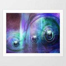 Mystic World Art Print