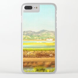 SPRING COLORS IN SALINAS Clear iPhone Case