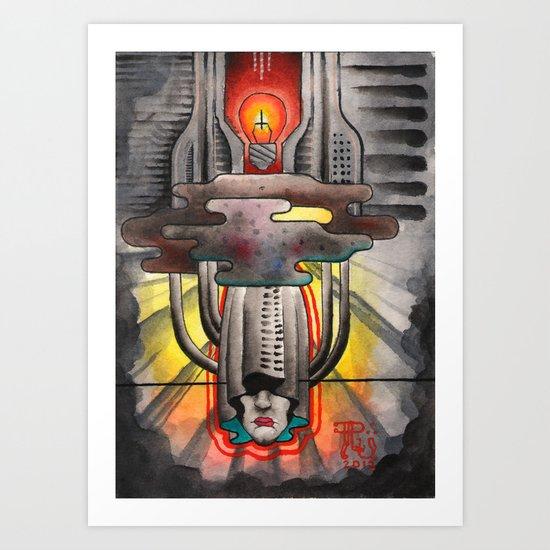 Invidious Ideas Art Print