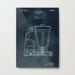 1998 - Food processor Metal Print