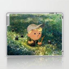 Flowery Fields Laptop & iPad Skin