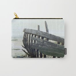 Wreck on the beach. Carry-All Pouch