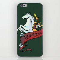 aragorn iPhone & iPod Skins featuring Horse Lords by Charleighkat