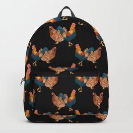 Hen and Rooster Backpack