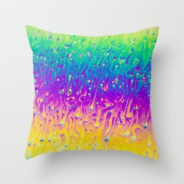 Nucleation Throw Pillow
