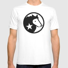 Unaffiliated Party Star Mens Fitted Tee White MEDIUM