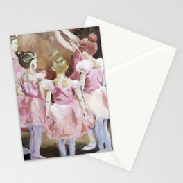 Before the Dance - Ballet Series Stationery Cards