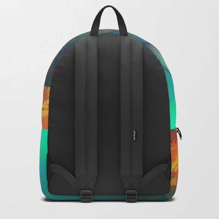 Whales Swimming Together Backpack