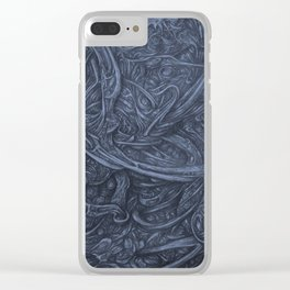 Dustmite Started Dreamig Clear iPhone Case