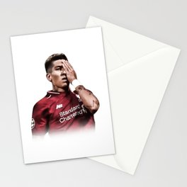 Roberto Firmino Pirate One Eye Celebration Stationery Cards