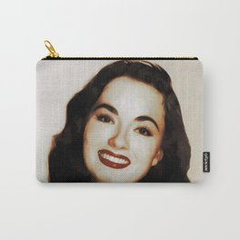Hollywood Legends, Ann Blyth, Actress Carry-All Pouch