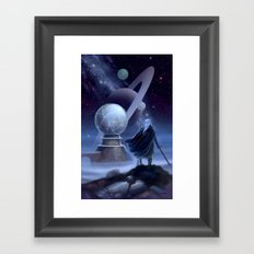 The Temple at the End of Time Framed Art Print