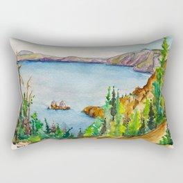 Crater Lake National Park Rectangular Pillow