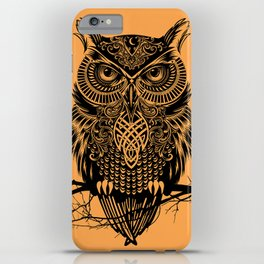 Warrior Owl 2 iPhone Case