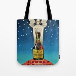 Vintage 1945 Cognac Rouyer Advertisement Poster Tote Bag