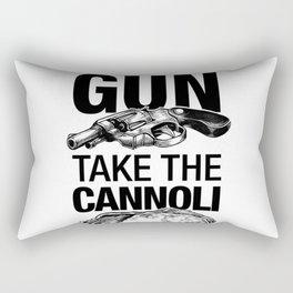 Leave the gun take th Rectangular Pillow